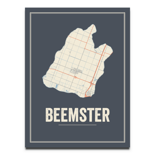 Beemster stads poster