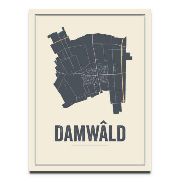 Damwald, Friesland poster