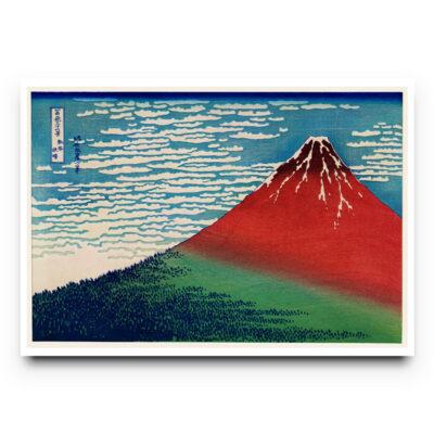 Hokusai Fuji poster