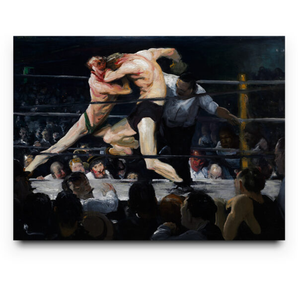 Stag at Sharkey's - George Bellows