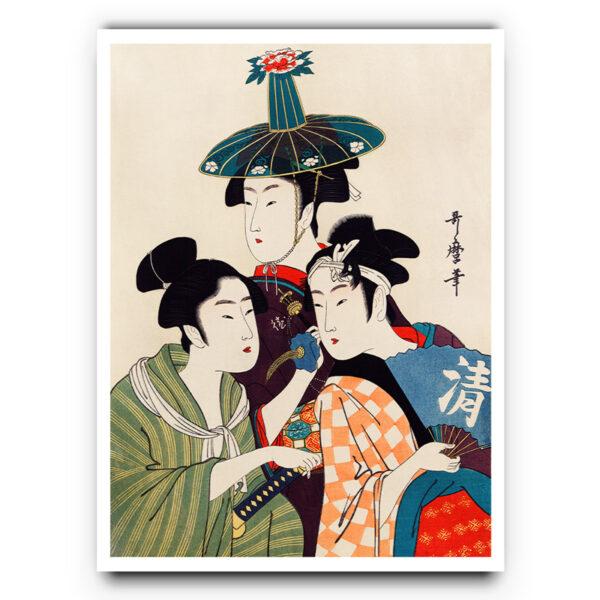 Geisha girls poster