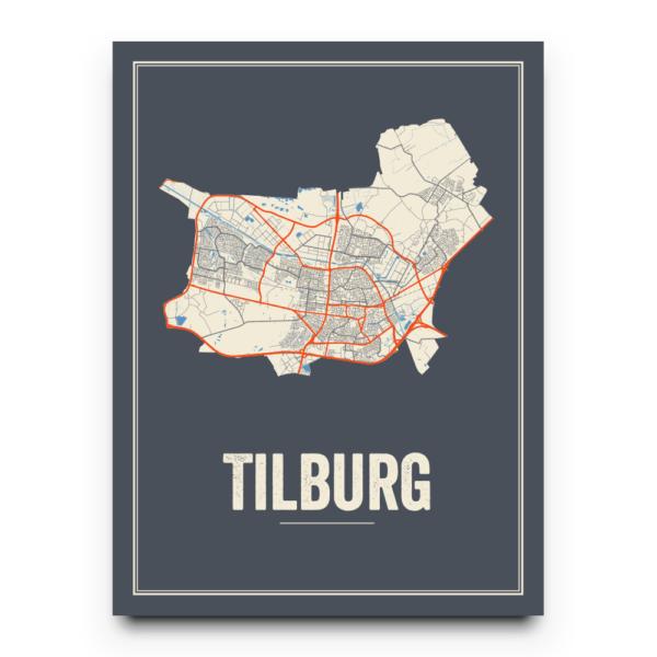 Tilburg stadskaart