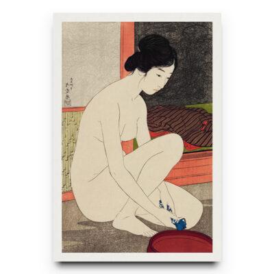 Japanese girl poster
