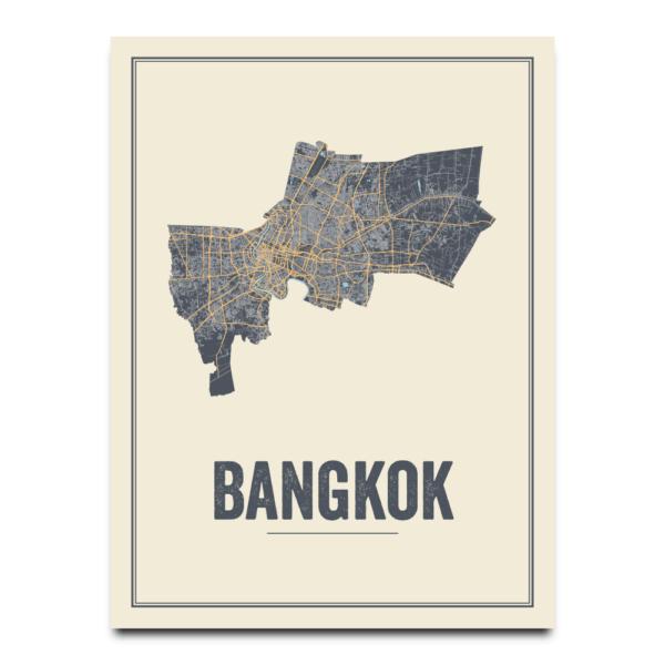 Bangkok stadskaart