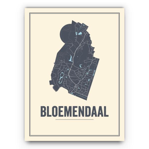 stadskaart Bloemendaal