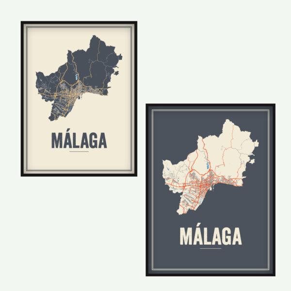 Malaga posters