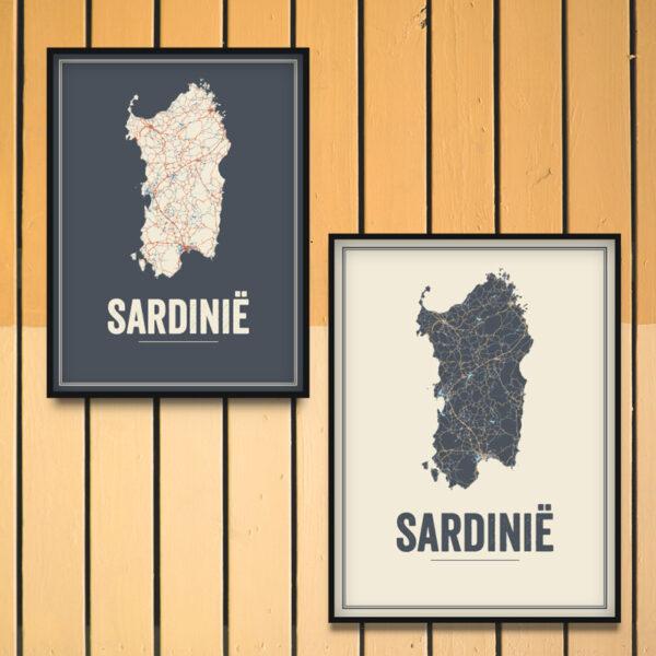Sardinia poster