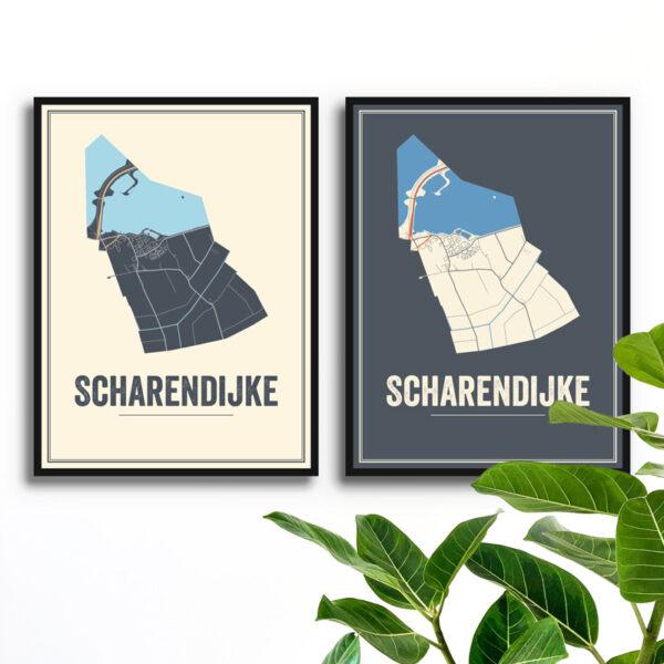 Scharendijke poster