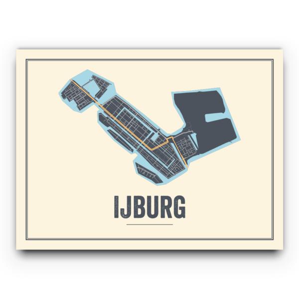 Ijburg, Amsterdam poster