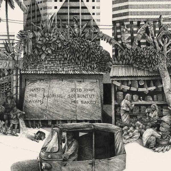 detail of Jakarta street 2