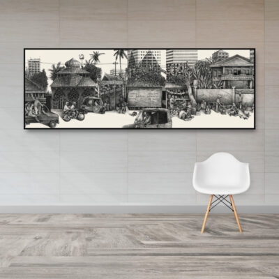 Jakarta street poster