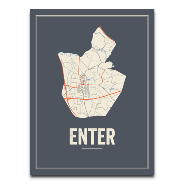 Enter stadskaart
