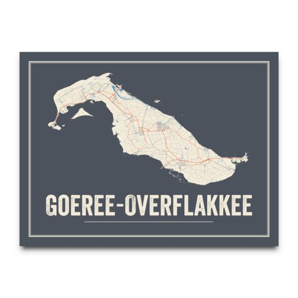 Goeree-Overflakkee kaart