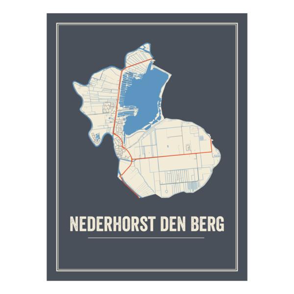 Nederhorst den Berg kaart