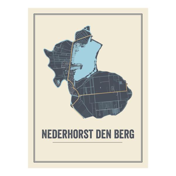 Nederhorst den Berg stads poster