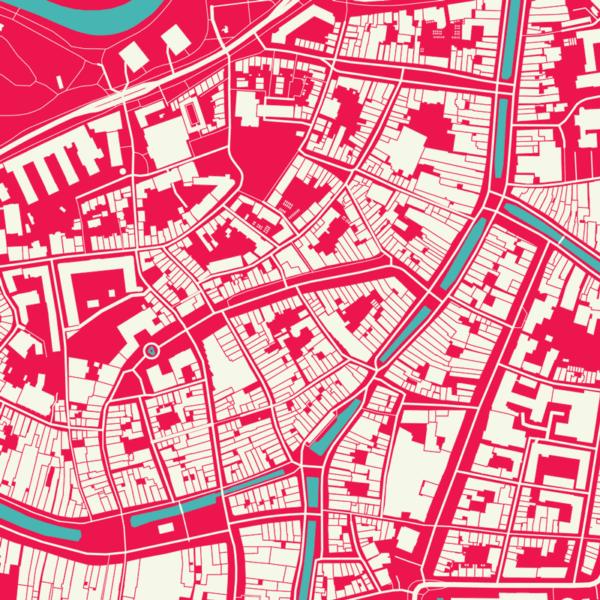 Leeuwarden stads poster details