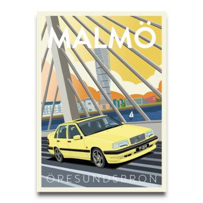 Volvo 850 TSR poster