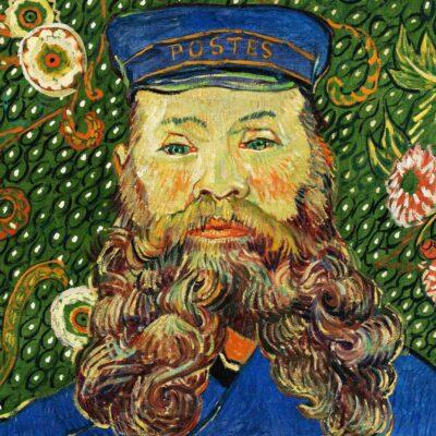 Postman detail - van Gogh