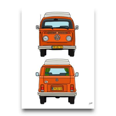 Volkswagen T2 poster