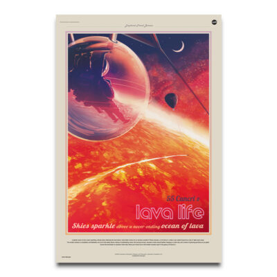 Lava Life space posters